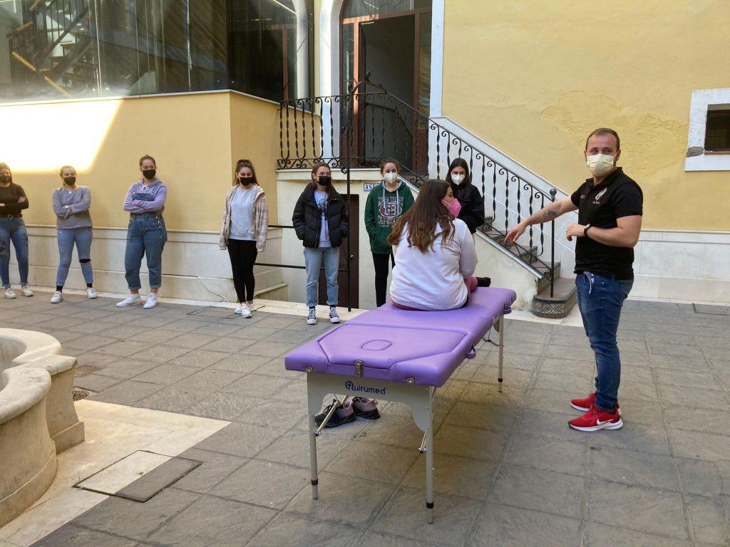 Masterclass de Cuidados Básicos de Fisioterapia.