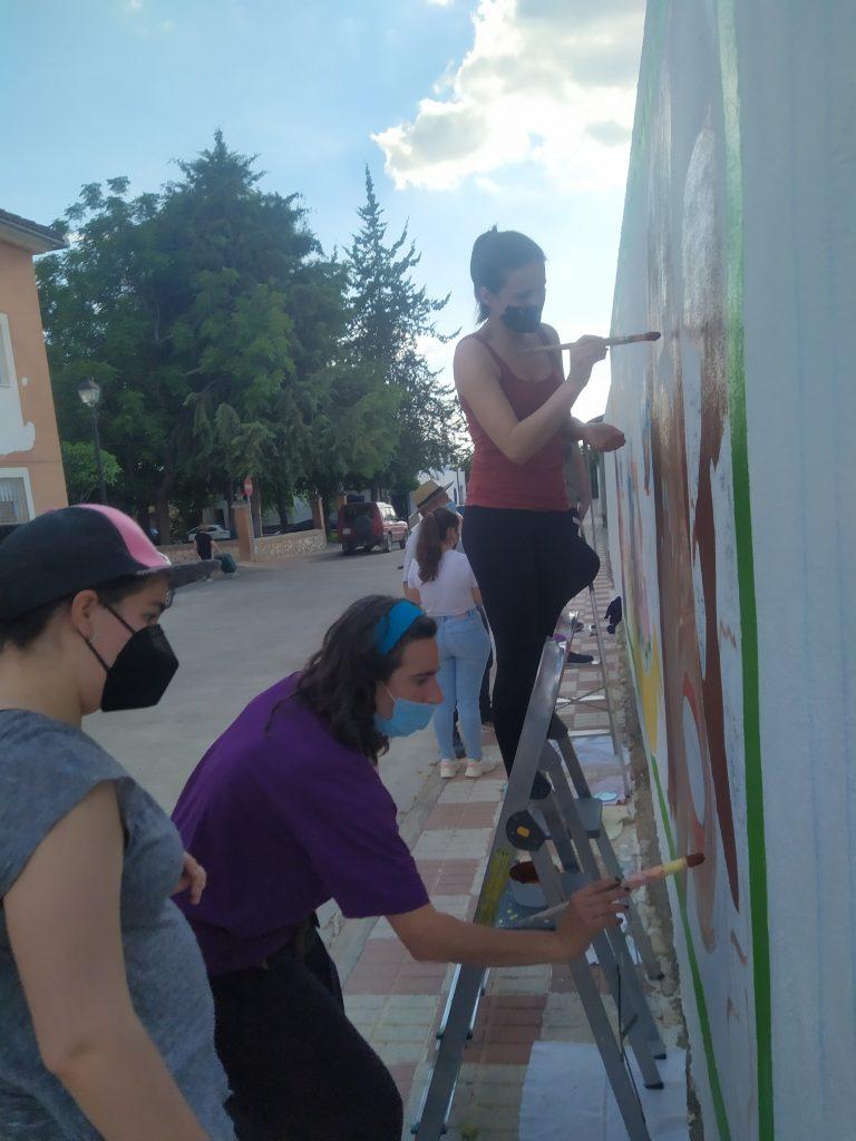 Ganadoras/es del Concurso «Mural por la igualdad» y Conferencia de Carmen Ruíz, Socióloga experta en Género