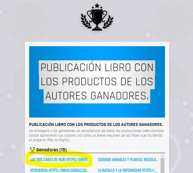 ¡Primer puesto en Premios HURI de la FAD a nivel mundial!