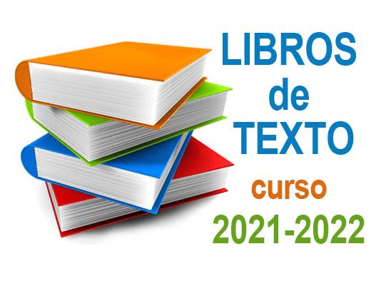 Relación libros de texto curso 2021-2022